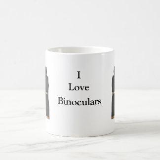 Amo los prismáticos tazas