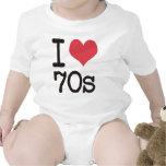 ¡Amo los productos 70s y los diseños! Trajes De Bebé