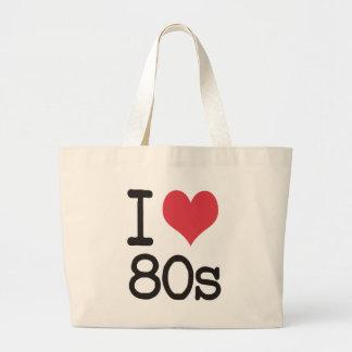 ¡Amo los productos 80s y los diseños! Bolsa Tela Grande