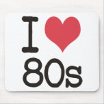 ¡Amo los productos 80s y los diseños! Alfombrillas De Raton
