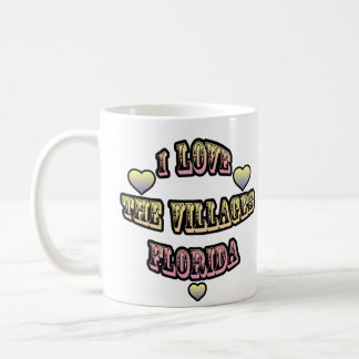 Amo los pueblos la Florida Tazas De Café