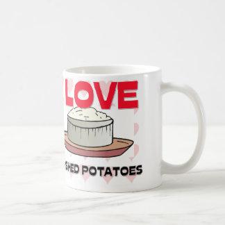 Amo los purés de patata taza de café