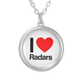 amo los radares colgante redondo