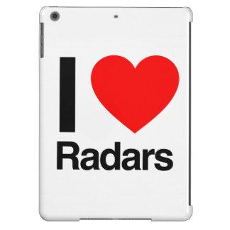 amo los radares funda para iPad air