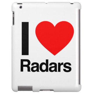 amo los radares funda para iPad