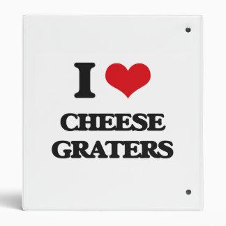 Amo los ralladores del queso