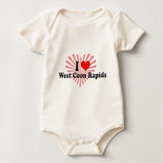 Amo los Rapids del oeste del Coon, Estados Unidos Body De Bebé