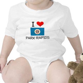 Amo los Rapids Minnesota del parque Traje De Bebé