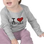 Amo los raviolis camisetas