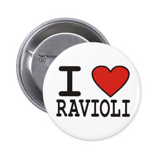 Amo los raviolis pins