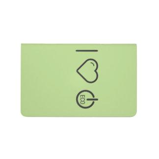 Amo los recursos seguros de Eco Cuadernos Grapados