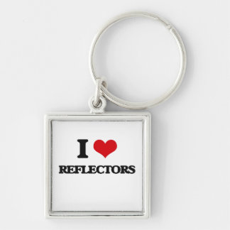 Amo los reflectores llaveros personalizados