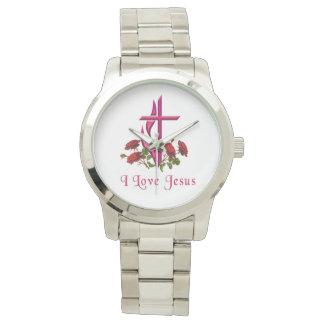 Amo los regalos de Jesús Reloj De Mano