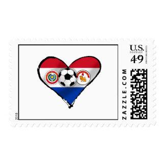 Amo los regalos del fútbol de Futbol Paraguayano Franqueo