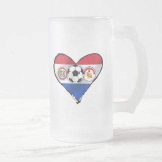 Amo los regalos del fútbol de Futbol Paraguayano Taza