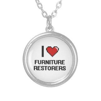 Amo los restauradores de los muebles colgante redondo