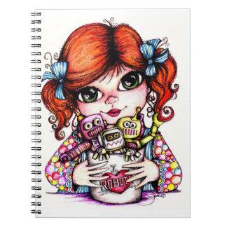 ¡AMO LOS ROBOTS! Cuaderno