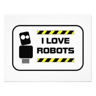 Amo los robots anuncios