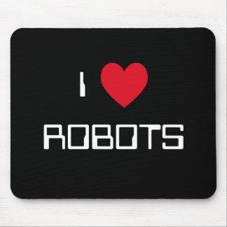 Amo los robots Mousepad