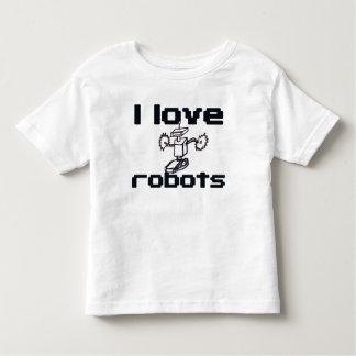 Amo los robots playera