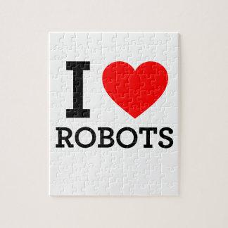 Amo los robots rompecabezas