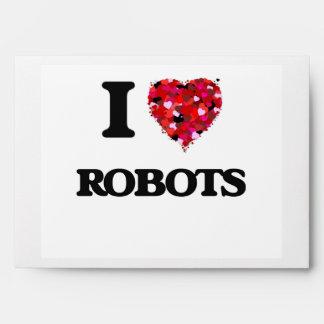 Amo los robots sobre