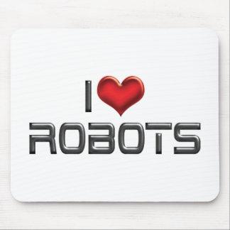 Amo los robots tapetes de raton