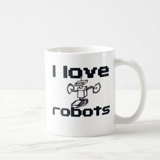 Amo los robots taza