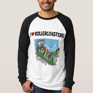 Amo los roller coaster polera