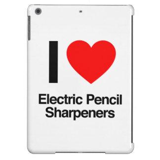 amo los sacapuntas de lápiz eléctricos funda para iPad air
