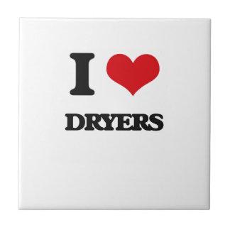 Amo los secadores tejas  ceramicas