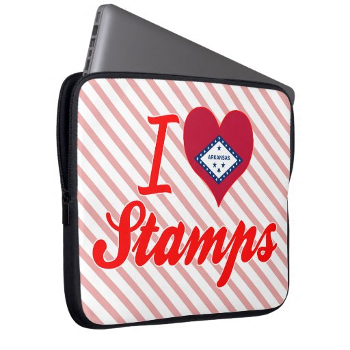 Amo los sellos, Arkansas Funda Computadora