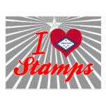 Amo los sellos, Arkansas Tarjetas Postales