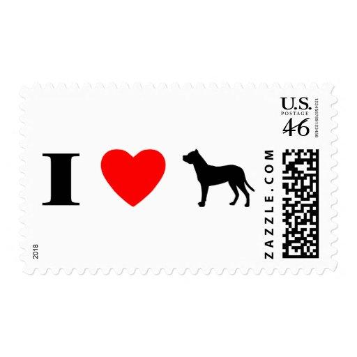 Amo los sellos de Dogo Argentinos