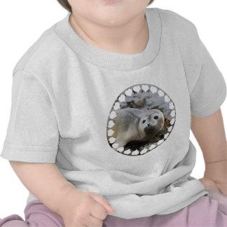 Amo los sellos camisetas