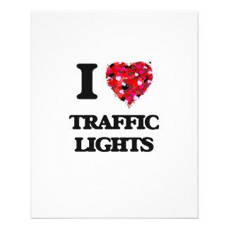 """Amo los semáforos folleto 4.5"""" x 5.6"""""""