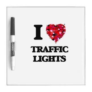 Amo los semáforos pizarras blancas