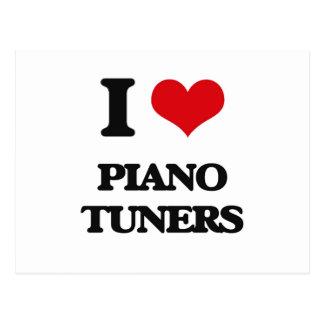Amo los sintonizadores de piano postal
