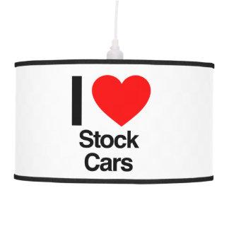 amo los stock car lámpara de techo