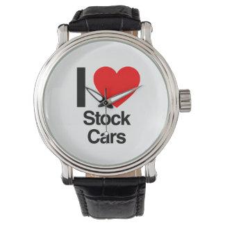 amo los stock car relojes de pulsera