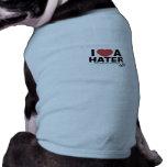 Amo los t de un perrito del enemigo camisetas de perrito