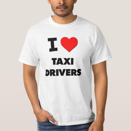 Amo los taxistas playera