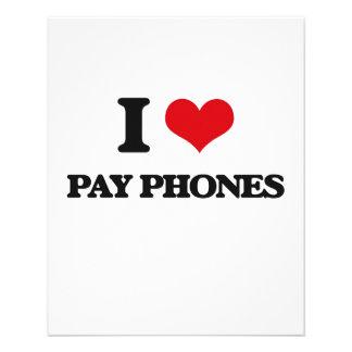 Amo los teléfonos de pago tarjeton