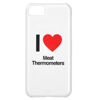 amo los termómetros de carne funda para iPhone 5C