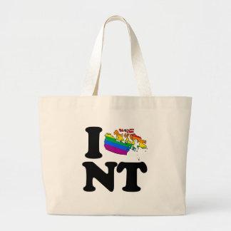 AMO LOS TERRITORIOS DEL NOROESTE GAY - .PNG BOLSA TELA GRANDE