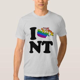 AMO LOS TERRITORIOS DEL NOROESTE GAY - .PNG PLAYERA