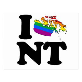 AMO LOS TERRITORIOS DEL NOROESTE GAY - .PNG POSTAL