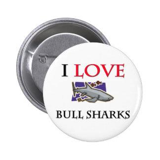 Amo los tiburones de Bull Pin