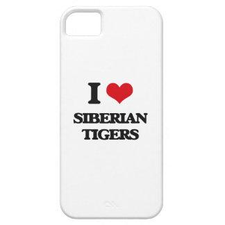 Amo los tigres siberianos iPhone 5 protector