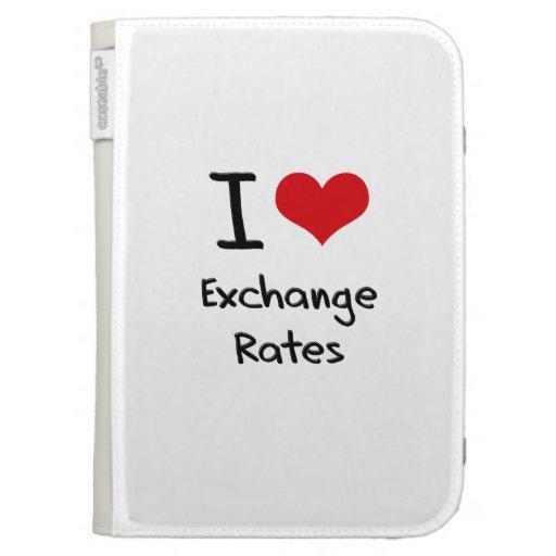 Amo los tipos de cambio